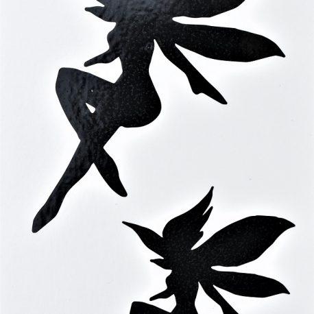 silhouette et ombre de fées
