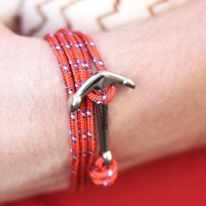 bracelet marin ancre bretagne