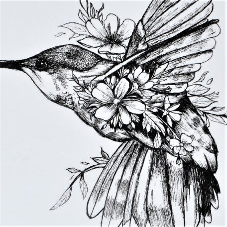 un oiseau colibri