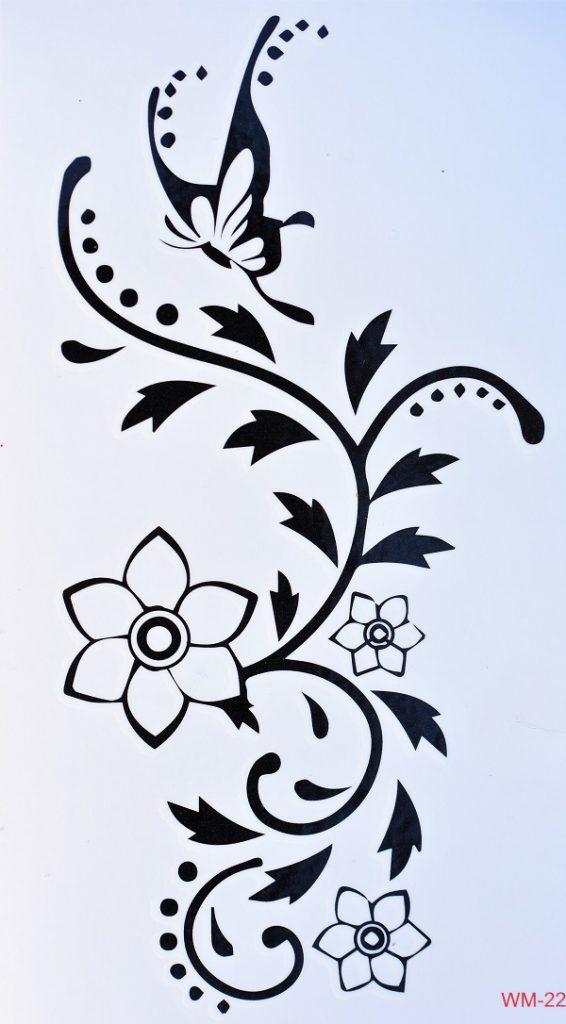 arabesque fleurie