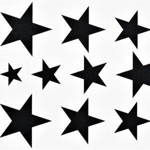 étoiles en tatouage