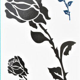 la rose noire en tatouage