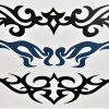 tatouage éphémère tribal