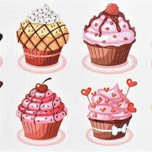 tatouage de cupcakes