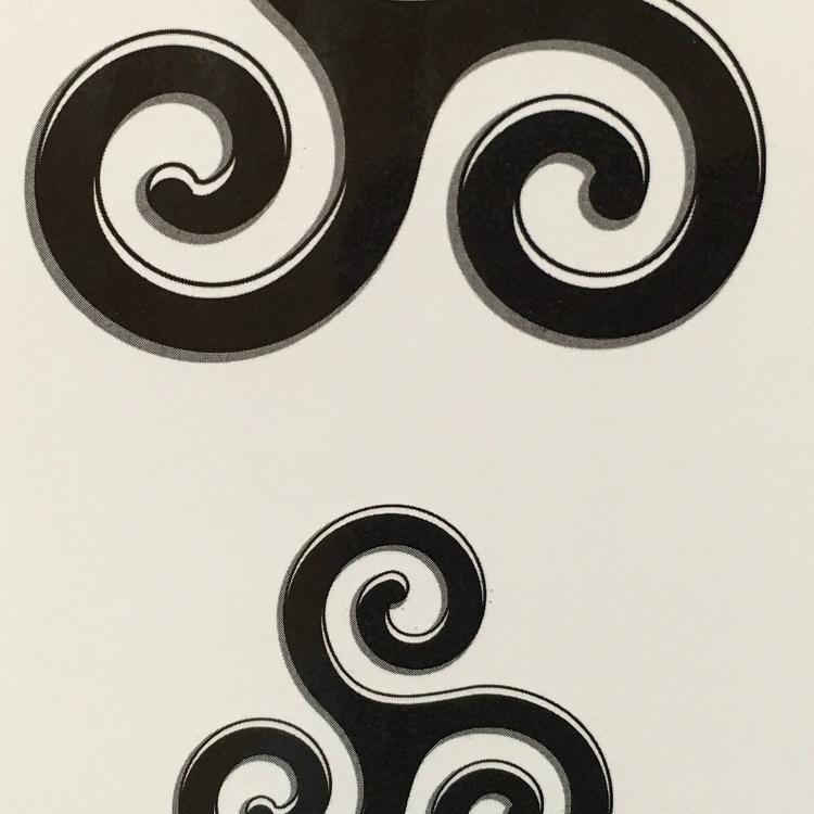 tattoo de triskel celtic et breton