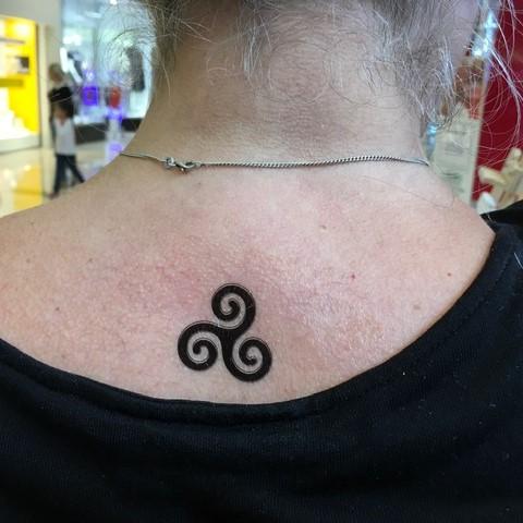 triskel breton en tatouage