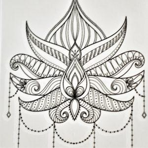 bali en tatouage éphémère