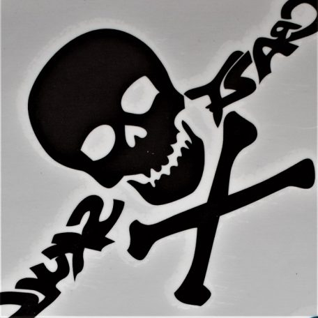 tête de mort en tatouage